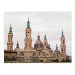 Postcard of Zaragoza Tarjeta Postal