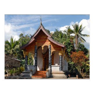 Postcard Pagoda in CAE Village, Loas