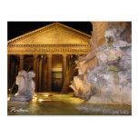 Postcard - Pantheon at Night