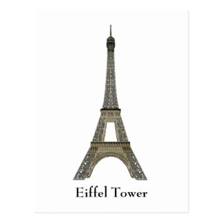 Postcard: Paris: Eiffel Tower Postcard