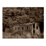 Postcard ~ Passenger Train Car ~ Ghost of the Past