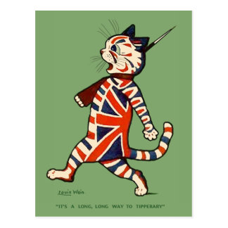 Postcard: Patriotic Cat Postcard