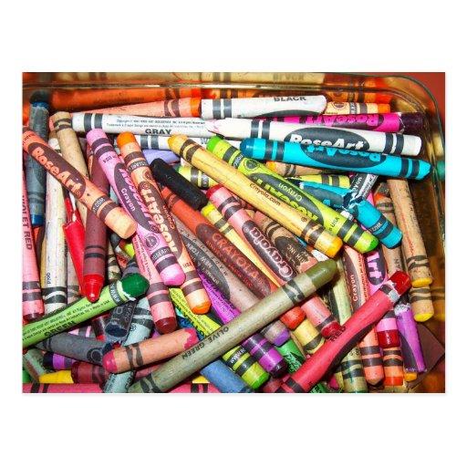 Postcard/Pencils