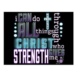Postcard - Philippians 4:13