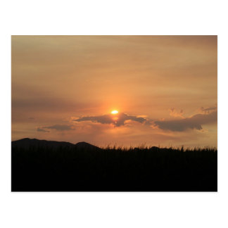 Postcard Photography of a sunset in Arizona 2