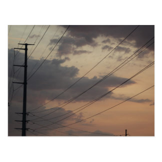 Postcard Photography of an Arizona power line!