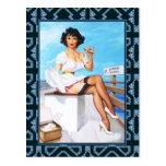 Postcard Pin up Girls Art Vintage Retro Print Postcards