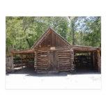 Postcard - Pioneer Corn Crib