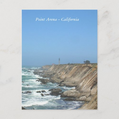 Postcard - Point Arena California postcard