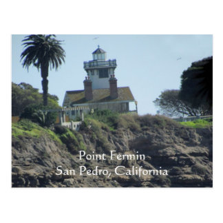 Postcard - Point Fermin Lighthouse