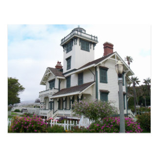 Postcard Point Fermin Lighthouse San Pedro CA Park