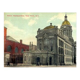 Postcard, Police Headquarters, New York City, 1911 Postcard
