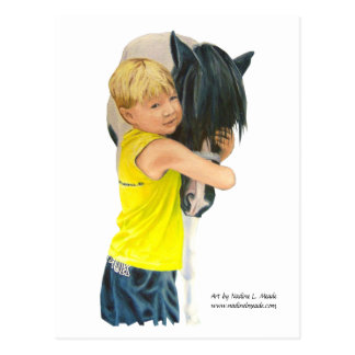 Postcard Pony Love