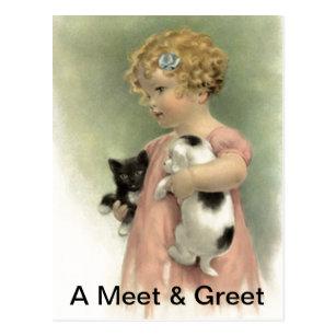 Dog rescue and adoption postcards zazzle postcard promo rescue meet greet pet adoption m4hsunfo