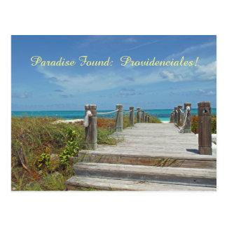 postcard/Providenciales/Turks and Caicos/Paradise Postcard