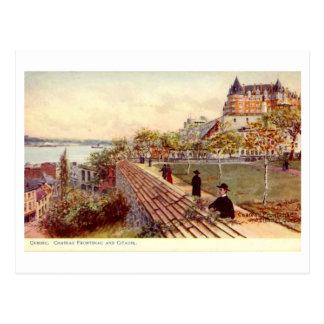 Postcard, Quebec, Chateau Frontenac Postcard