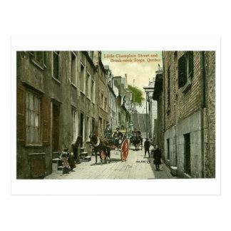 Postcard, Quebec City, Little Champlain Street Postcard