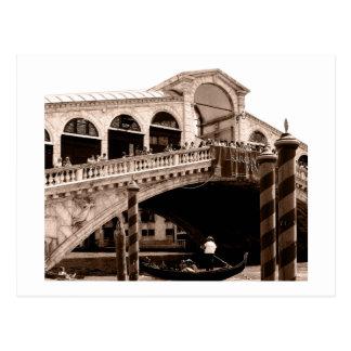 Postcard - Rialto Bridge Sepia