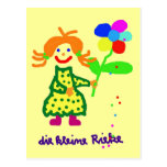 "Postcard ""Riekes little flower """