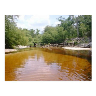 Postcard - River Sandbar