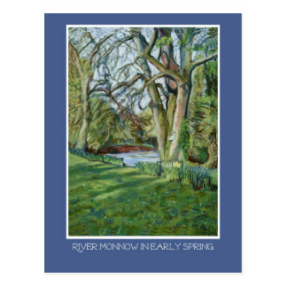Postcard - Riverbank in Early Spring