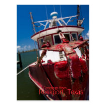Postcard - Rockport, Texas