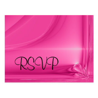 Postcard - Romantic RSVP