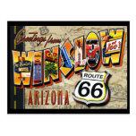 Postcard Route 66 Greetings Vintage Postcard
