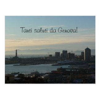 Postcard - Saluti da Genova