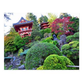 Postcard San Francisco Japanese Tea Garden