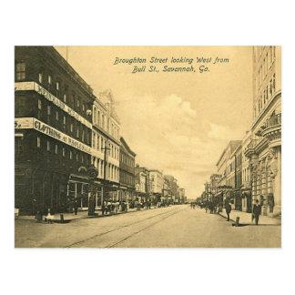 Postcard, Savannah, Georgia, USA Postcard