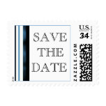 Postcard Save The Date Template Event And Wedding Postage Stamp