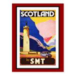 Postcard Scotland Greetings Vintage Post Cards