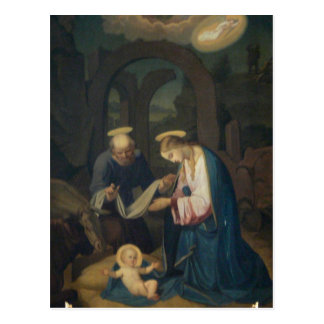 Postcard (Scripture): Lk 2:6-7 Birth of Christ