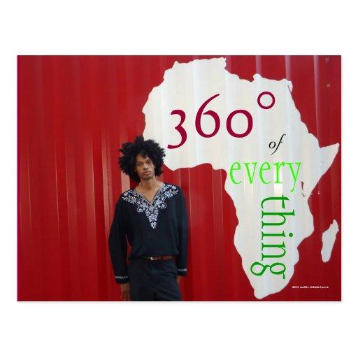 Postcard sean360x Africa 360°