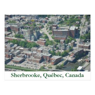 Postcard Sherbrooke, Quebec, Canada
