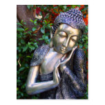 Postcard   Silver Buddha