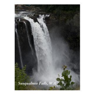 Postcard:  Snoqualmie Falls, WA
