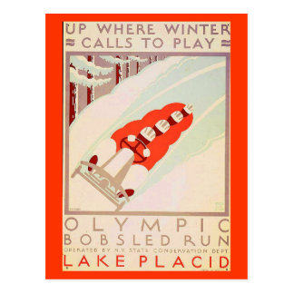 Postcard-Sports/Games-Vintage Sports Art 17