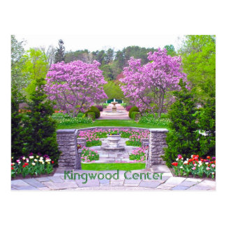 "postcard, ""Spring Arrives at Kingwood Center"" Postcard"