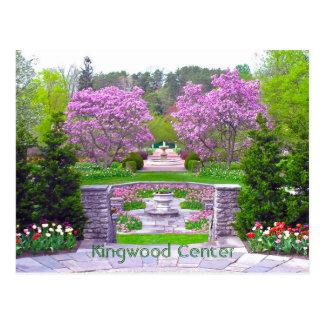 """postcard, """"Spring Arrives at Kingwood Center"""" Postcard"""