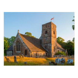 Postcard St Agustino, Canford movió, Dorset UK Tarjeta Postal