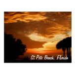 Postcard - St. Pete Beach Sunset - Customized