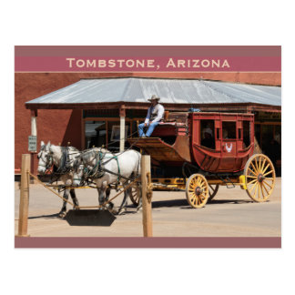 Postcard: Stagecoach Ride #1 Postcard