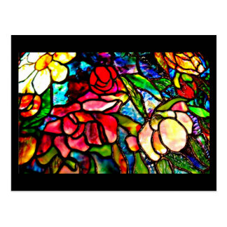 Postcard-Stained Glass-Louis Tiffany 18 Postcard