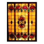 Postcard - Stained Glass Window postcard