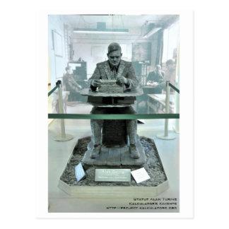 Postcard Statute Alan Turing