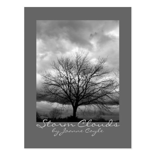 Postcard - 'Storm Clouds' by Joanne Coyle