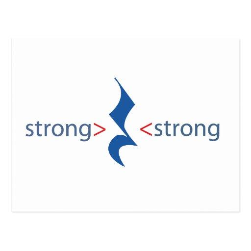 postcard strong>kwart rust<strong wens kaarten