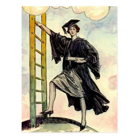 Postcard Success Graduation Design for Invitation